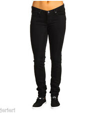 NEW $78 Quicksilver Blue - Black Streaky Lorne Low Rise Skinny Jeans 26 x 33 NWT