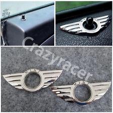 2Pcs Metal Wing Door Lock Knob Pin for BMW Mini Cooper
