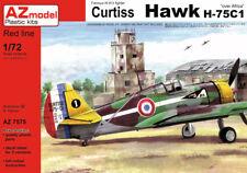 AZ Models 1/72 Curtiss Hawk h-75c-1 'FRENCH AIRCRAFT OVER AFRICA' # 7575