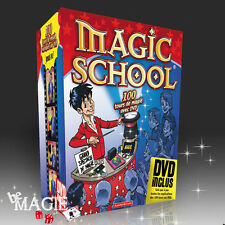 Coffret Magic School - 100 Tours de magie + DVD - OID
