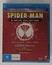 SPIDER-MAN 6-Movie Collection BLU-RAY oz seller REGION A B C spiderman SEALED