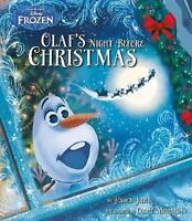 Disney Frozen Olaf's Night Before Christmas by Jessica Julius NEW BOOK (P/B 2015