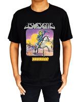 Budgie Bandolier Rock Metal Band Logo Men's T-Shirt