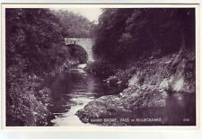 The Garry Bridge Pass Of Killiecrankie Perthshire JB White 5192 Old Postcard
