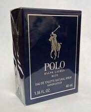 POLO BLUE Ralph Lauren for MEN Eau de Toilette Spray 1.36oz NEW Sealed Authentic