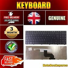 For ACER ASPIRE 5332-303G50MN 5332-304G32MN Laptop Keyboard UK Layout Black