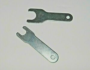 """set of collet wrenches  for 90 Degree angle die grinder  2pcs-1/4"""" collet"""