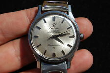 1960s Vintage OMEGA CONSTELLATION Wrist Watch Stainless Steel WORKS GREAT! Nice!