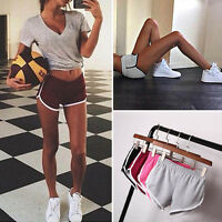 Womens Fitness Sports Gym Running Shorts Yoga Jogging Training Trousers 6-12