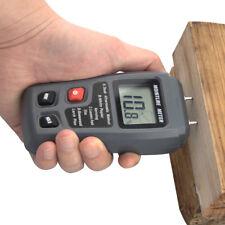 Digital LCD Wood Firewood Moisture Meter Humidity Damp Detector Tester Sensor