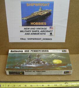 MINT IN BOX 1/720 Revell WW2 Battleship USS PENNSYLVANIA