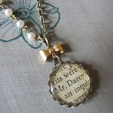 Glass Brass Round Stone Costume Necklaces & Pendants
