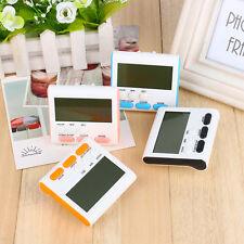 Imanes cocina digital LCD temporizador de cuenta regresiva despertador 24 horas