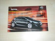 49015) Opel Astra Prospekt 08/2009