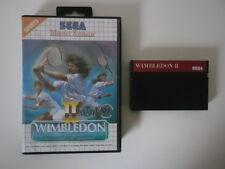 WIMBLEDON II (2) - SEGA MASTER SYSTEM