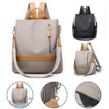 Women Waterproof Anti-theft Oxford Cloth Backpack Travel Rucksack Shoulder Bag