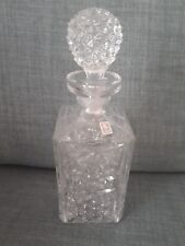 Decanter, Genuine Italian 30% P60 Glass decanter with stopper, 28cm
