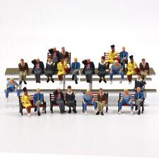 P4803DE NEU 24 Stk. verschieden sitzende Figuren Spur 0 O scale 1:43