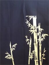 "Japanese  Noren Curtain Tapestry 2-Panel 34""W x 56""L Sushi Bar Bamboo Print"