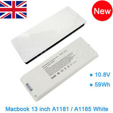 "Rechargeable Battery For Apple MacBook 13""inch A1181 A1185 MA561 MA566 WHITE C1"