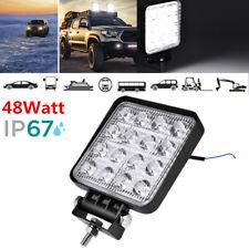 New listing 16Led 48W 12V/24V Work Light Car Atv Off-Road Driving Fog Lamps Flood Beam Bar