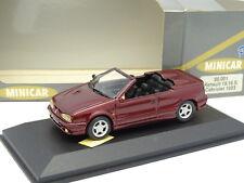 Minicar Plus 1/43 - Renault 19 16S Cabriolet Rouge 1993