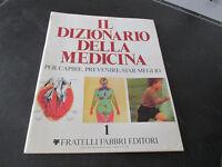 The Dizionario Della Medicina Fabbri 1978 Embossing 1 Prima Edition
