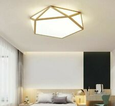 Marvelous Ceiling Golden Lights LED Acrylic Dome Lamps Indoor Home Lampshade New