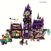 Scooby Doo Mystery Mansion Building Block Shaggy Daphne Velma Figure Puzzle toy