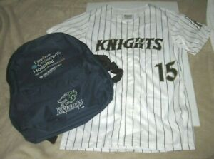Charlotte Knights Kids Jersey and Backpack