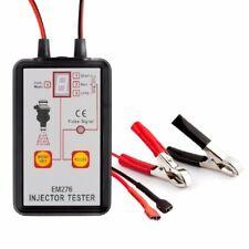 EM276 Automotive Fuel Injector Tester Car Diagnose Tool 12V Car Cleaner Adjunct
