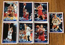 7 DIFFERENT,BULLETS, BASKETBALL 94/95 PANINI STICKERS