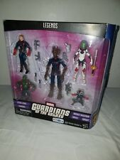 MARVEL UNIVERSE LEGENDS Guardians Of The Galaxy, Drax Star-Lord Groot BNIB TRU
