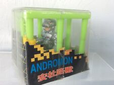 Vintage Digimon Andromon Mini Figure in Cage - NEW