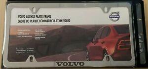 Genuine Volvo License Plate Frame Bracket Polished Slimline chrome 8640262