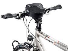 Borsa da Città Deuter Montaggio Per Manubrio Bici Bicicletta 14 x 18 x 7 Nero Piccolo 1.2 L