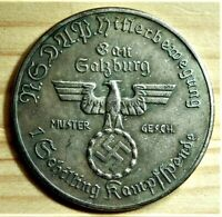 WW2 GERMAN COMMEMORATIVE COLLECTORS COIN 1 SCHILLING AHITLER