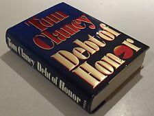 Debt of Honor Tom Clancy 1994 1st Edition 1st Printing HC DJ