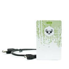 NFC Reader/Writer   DL533R mit Reichweiten Booster Funktion   weiß/grün