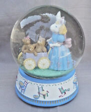 "Musical Easter Snow Globe, Plays ""Easter Parade"""