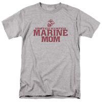 United State Marine Corps USMC MARINE MOM Licensed Adult T-Shirt All Sizes
