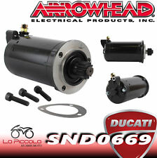 Snd0669 Motorino D'avviamento Arrowhead Ducati Sport 1000s 2006-2009