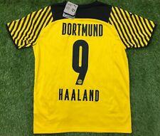 PUMA Dortmund BVB Trikot Gr. M Haaland 2021/22 Heim 2022 21/22 Shirt NEU Jersey