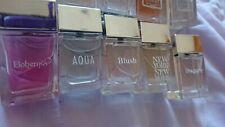 10 Miniature M&S Perfume Bottles