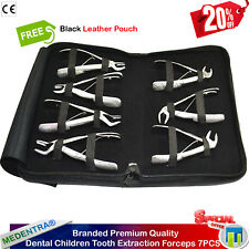 X7 Dental Children Tooth Extraction Forceps Pedo Surgical Extracting Instruments