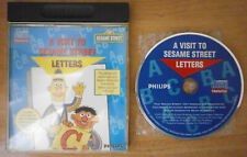 A VISIT TO SESAME STREET LETTERS - PHILIPS CD-I *BEST OFFER* *TRACKED*
