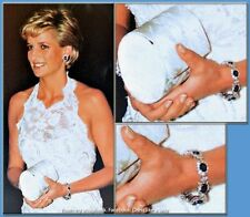 Princess Kate/Diana Diamond and Sapphire Replica Bracelet
