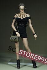 1/6 Mini Skirt Female Slim Dress Cloth Toy Action Figure Model Customized