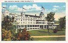 Lake Placid New York The Steven'S House Postcard c1920s