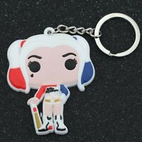 Harley Quinn Birds of Prey Suicide Squad Funko Pop Bag Charm Keyring